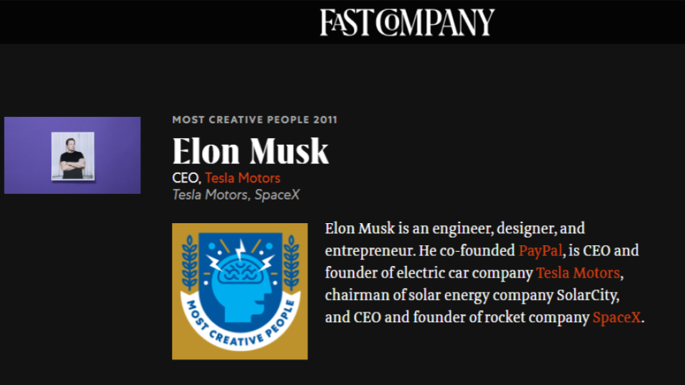 get featured in fast company