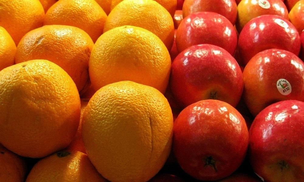 Apples to oranges