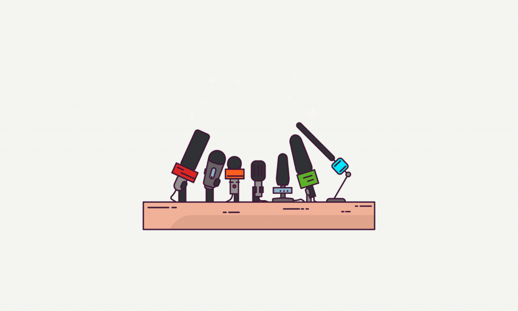 The purpose of pitching media